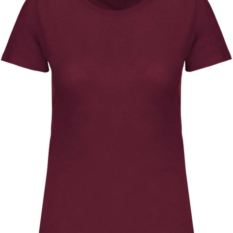 tee-shirt-col-rond-femme-bio-bordeaux