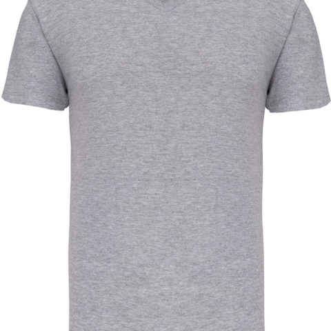 tee-shirt-homme-col-v-bio-gris-chine